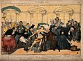 Mercury lies dying from cholera, surrounded by ministers; re Wellcome V0011733.jpg