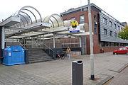 Ingang metrostation Ambachtsland.