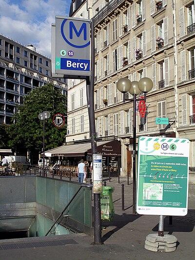 Bercy (metropolitana di Parigi)