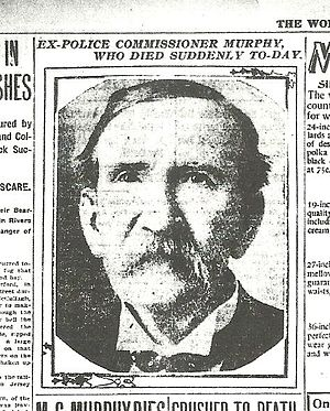 New York City Police Commissioner - Image: Michael C. Murphy, Obituary picture, March 4,1903 The New York Evening World