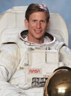 Michael L. Gernhardt NASA astronaut and manager of Environmental Physiology Laboratory