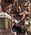 Michael Pacher - Altarpiece of the Church Fathers - Vision of St Sigisbert - WGA16813.jpg