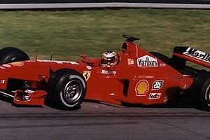 Ferrari F399 - Michael Schumacher driving the F399 at the 1999 Canadian GP.