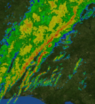 Mid-South squall line 30 January 2013 radar mosaic.png