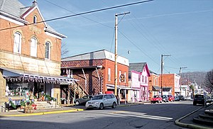 National Register of Historic Places listings in Tyler County, West Virginia - Image: Middlebourne West Virginia