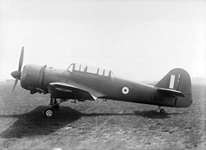 Miles Martinet prototype at Reading 1942.jpg