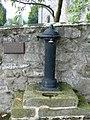 Millennium Drinking fountain outside Llanferres Church - geograph.org.uk - 568885.jpg