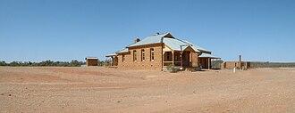 Milparinka, New South Wales - Historic buildings at Milparinka