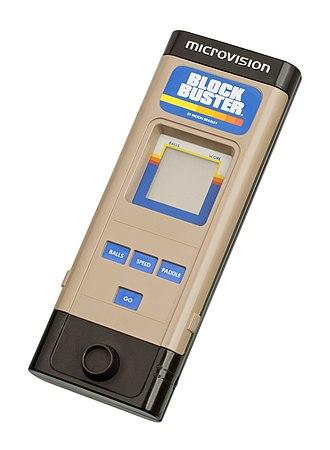 Microvision - Image: Milton Bradley Microvision Handheld FL