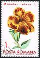 Mimulus luteus - Posta Romana - 1971 - flower 1Lei.jpg