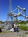 Mini-Europe-Eifel tower and Atomium - panoramio.jpg