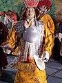 Miniature Tibetan warrior, Losel Doll Museum, Norbulingka Institute, Dharamsala.jpg