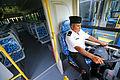 Ministro de Defensa participó en ceremonia de entrega de buses a la Marina (8499471109).jpg