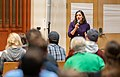 Minneapolis City Council President Lisa Bender at Lyndale Avenue Pedestrian Safety Listening Session (49164882846).jpg