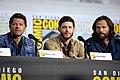 Misha Collins, Jensen Ackles & Jared Padalecki (48478085406).jpg
