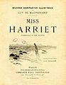 Miss Harriet (recueil).jpg