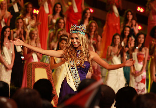 Miss World 08 winner Ksenia Sukhinova
