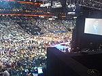 Mitt Romney's speech; Behind the Stage at RNC (2827938367).jpg