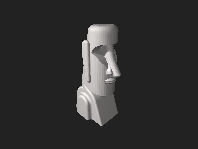 File:Moai.stl