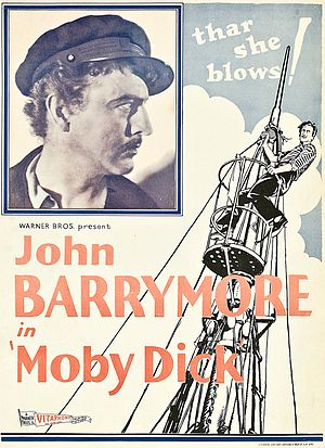 Moby Dick (1930 film) - theatrical poster