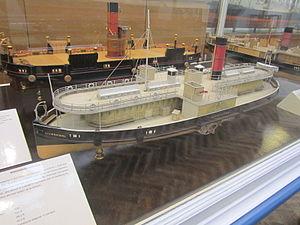 Model of Mersey Ferry 'Birkenhead', Williamson Art Gallery.jpg