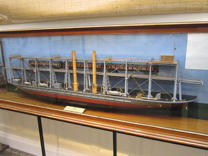 Model of train ferry 'Leonard', Williamson Art Gallery.jpg