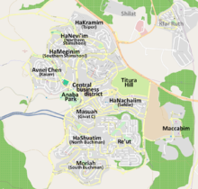 Modiin Map 2011.png
