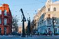 Mogilev City Center, Astrologer Statue, 2014.jpg
