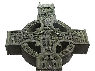 Monasterboice - Image: Monasterboice West Cross head west