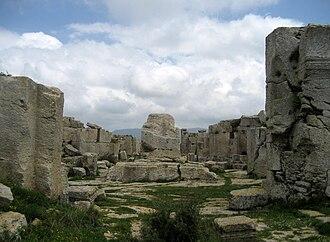 Samandağ - Image: Monastery of St Simeon Stylites the Younger 3