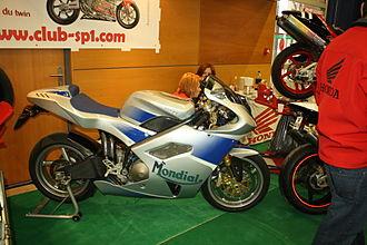 Mondial (motorcycle manufacturer) - Image: Mondial Piega