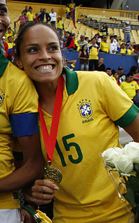 Monica Hickmann Alves Brazilian association football player