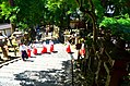 Monks in Kasuga-taisha shrine in Nara 02.jpg