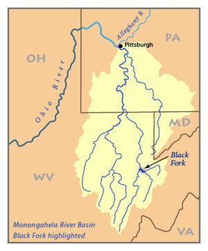 Black Fork (Cheat River) - Image: Monon Black Fork