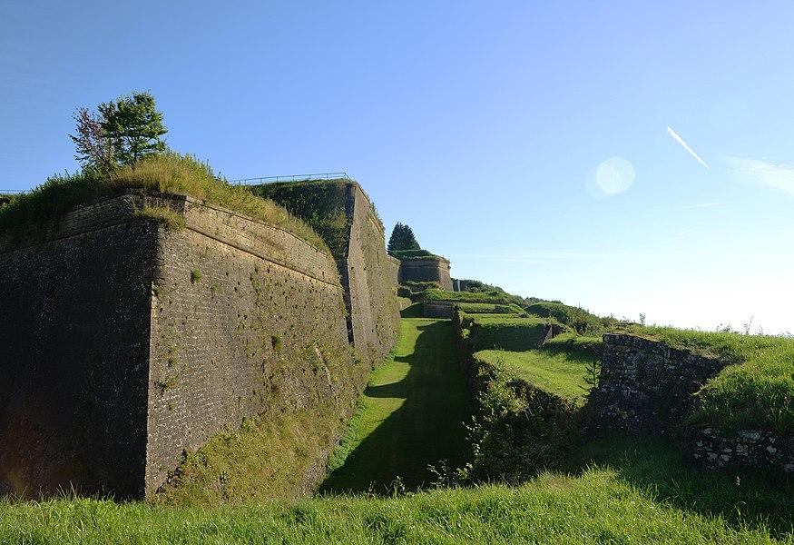 Montmedy Citadel Bastions, France