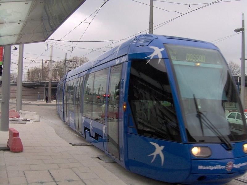 Montpellier Tramway1
