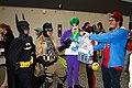 Montreal Comiccon 2016 - Batman and enemies (27999667620).jpg