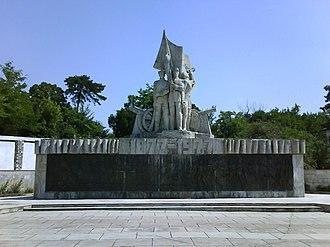 Calafat - Image: Monument Calafat