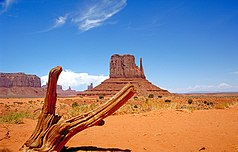 Monument Valley mit West Mitten Butte