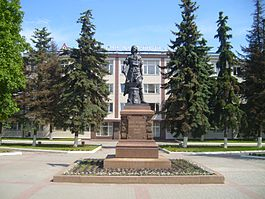Monument of Peter I in Tula.JPG