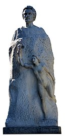 Monumentul lui Mihai Eminescu, Galati (3).jpg