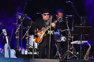 Van Morrison - Morrison performs at the Edmonton Folk Music Festival in 2010.
