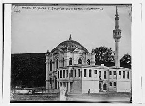 Mosque of Sultan at Sweet Waters of Europe, Constantinople.jpg