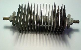 Metal rectifier - Selenium rectifier