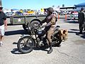 Motorcycle dispatch rider Wings Over Wine Country 2007.JPG