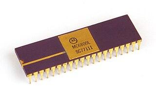 Motorola 6800 8-bit microprocessor