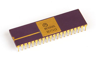 Motorola 6800 - Motorola MC6800 microprocessor