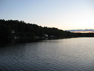 National Register of Historic Places listings in Fulton County, New York - Image: Mountain Lake