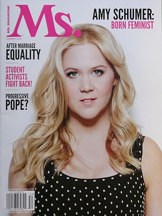 Amy Schumer - Schumer on cover of ''Ms.'' magazine in 2015