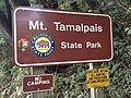 Mt. Tamalpais State Park entrance sign.jpg